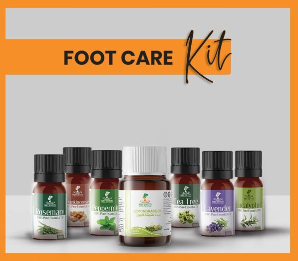 Nefertiti NaturalOilsHerbs for Foot Care Kit En 2