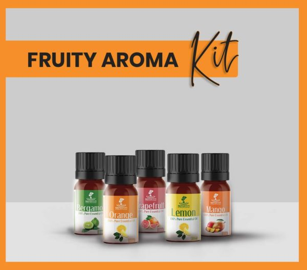 Nefertiti NaturalOilsHerbs for Fruity Aroma Kit En