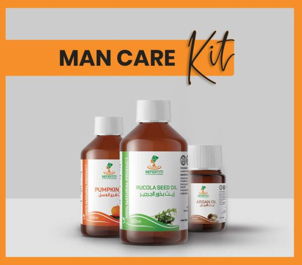Nefertiti NaturalOilsHerbs for Man Care Kit En 2